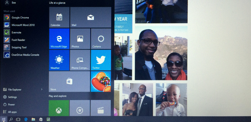 Windows 10 and its User Experience